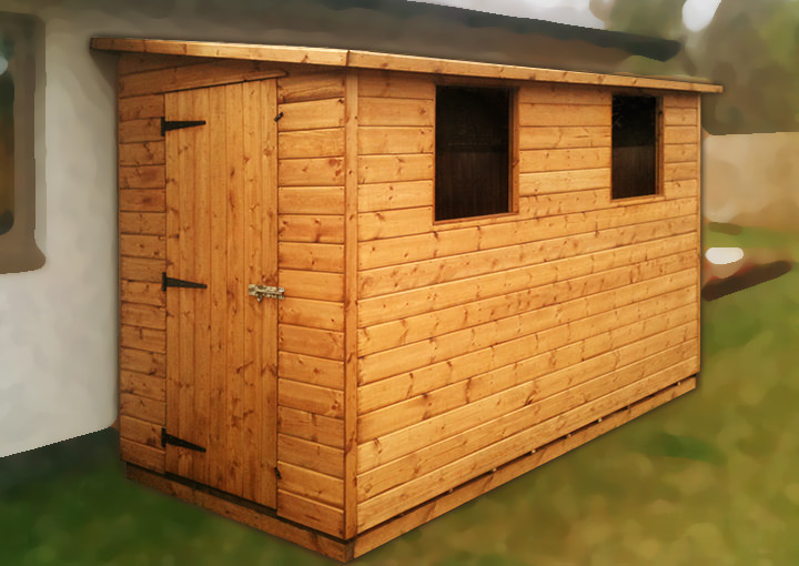 Pent Sheds from Salisbury's of Kenilworth